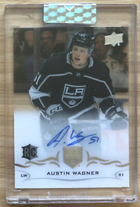 2018-19-UD-Upper-Deck-Auto-Clear-Cut-Austin-Wagner-Autographed-Rookie-Card-RC