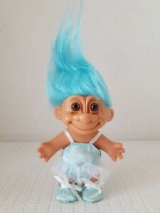 "BASKETBALL PLAYER NEW IN ORIGINAL WRAPPER 5/"" Russ Troll Doll Pink Hair"