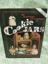 """Collectibles book:""""Collector's Ency. of COOKIE JARS: illus value gde, HC  rm-299"""