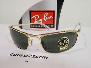 RayBan-Olympian-3119-Gold-Arista-Oro-occhiali-da-sole-sunglasses-New-Original