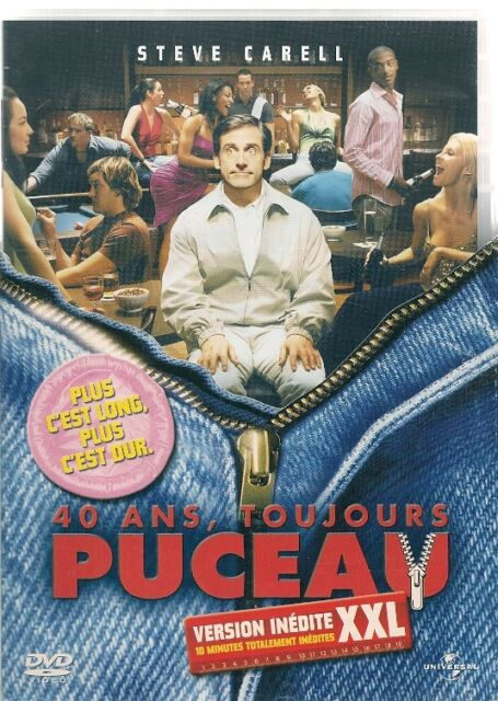 DVD ZONE 2--40 ANS TOUJOURS PUCEAU / VERSION LONGUE--CARELL/APATOW/KEENER/RUDD