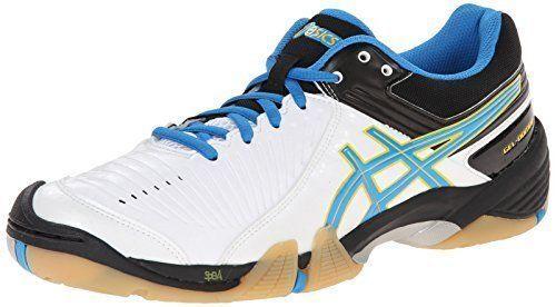 ASICS GEL-Domain 3 Womens Volley Ball shoes Sz  10.5 US White Diva bluee Black NIB