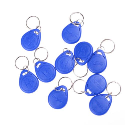 10pcs EM4305 Copy Rewritable Writable Rewrite RFID Tag Key Ring Card 125KHZ HL