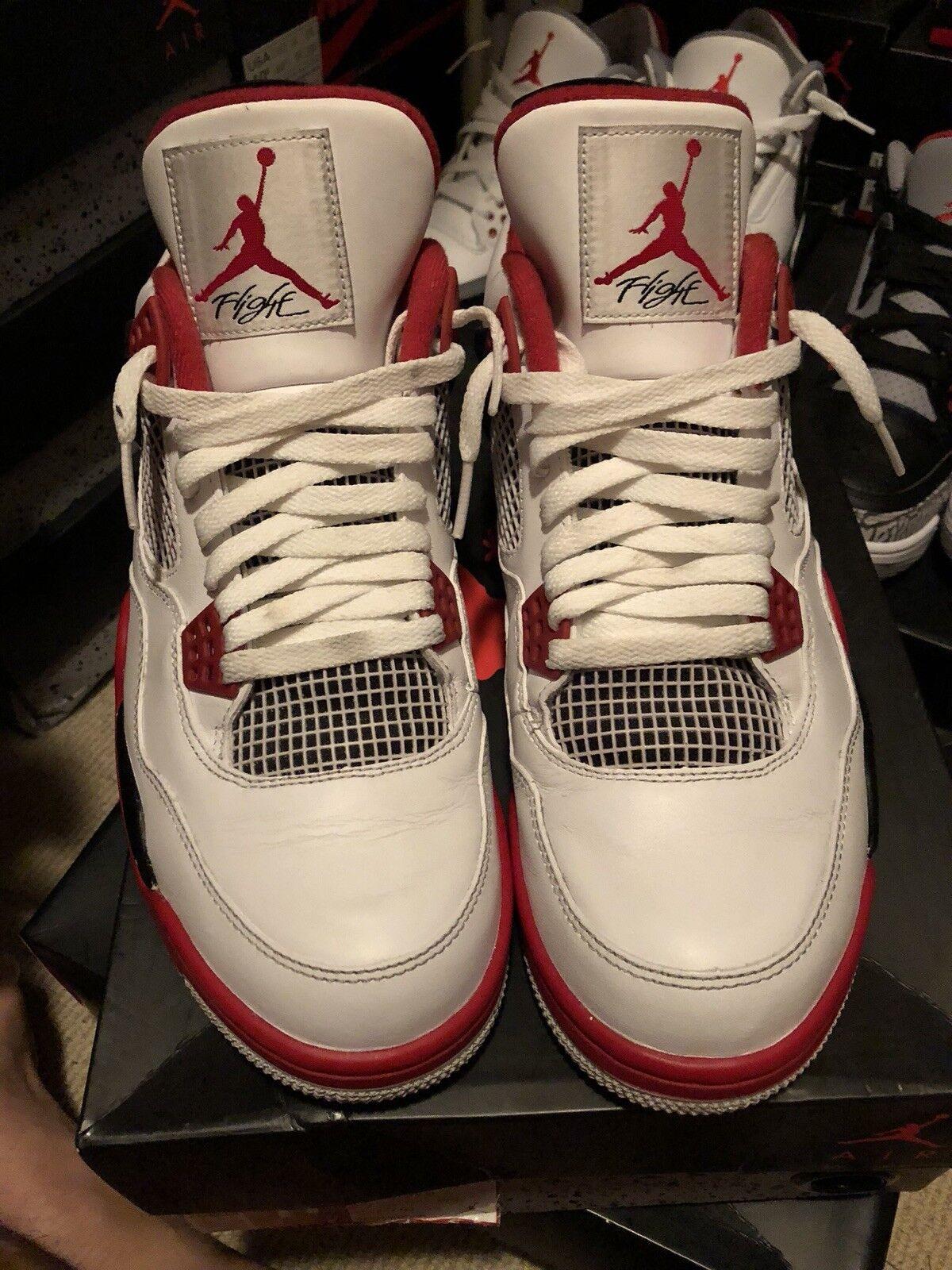 info for 163d7 be844 Air jordan 4 Fire Red Size 11