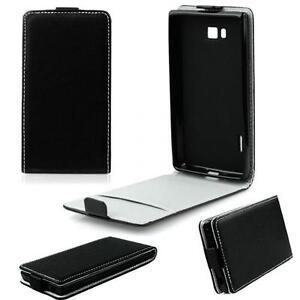 Slim-Flexi-Sac-Flip-Case-Housse-Pliante-Pour-Samsung-Galaxy-j3-2017-Noir