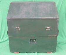 Steel Construction Job Site Remote Tool Chest Box Bin Storage Unit Gangbox 52 50