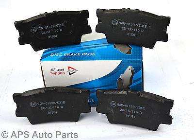 Audi A6 C4 2.5 TDI Quattro Genuine Allied Nippon Front Brake Pads Set