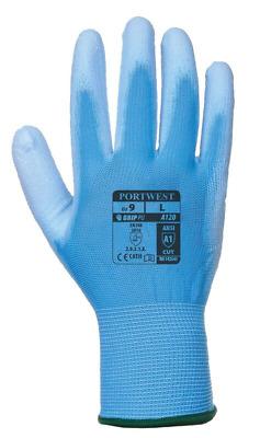 Portwest A120 Best Selling PU Palm Gen Handling Work Gloves Pick Size Color Qty