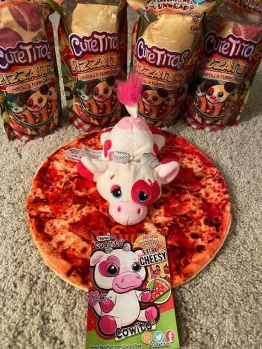 Cutetitos Pizzaitos  series 5 Cuddito the Cow Extra Cheezy rare