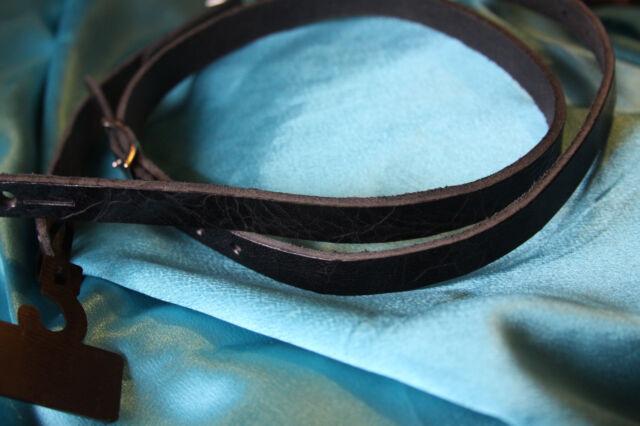 I13 Schwarz Leder Gurt für Mandoline