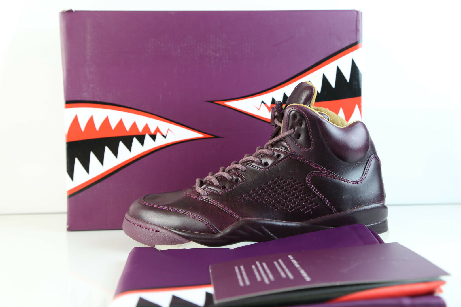 nike air jordan retro segel - 5 prem bordeaux segel retro 881432-612 7.5-9 premium - spitze. 2901e3