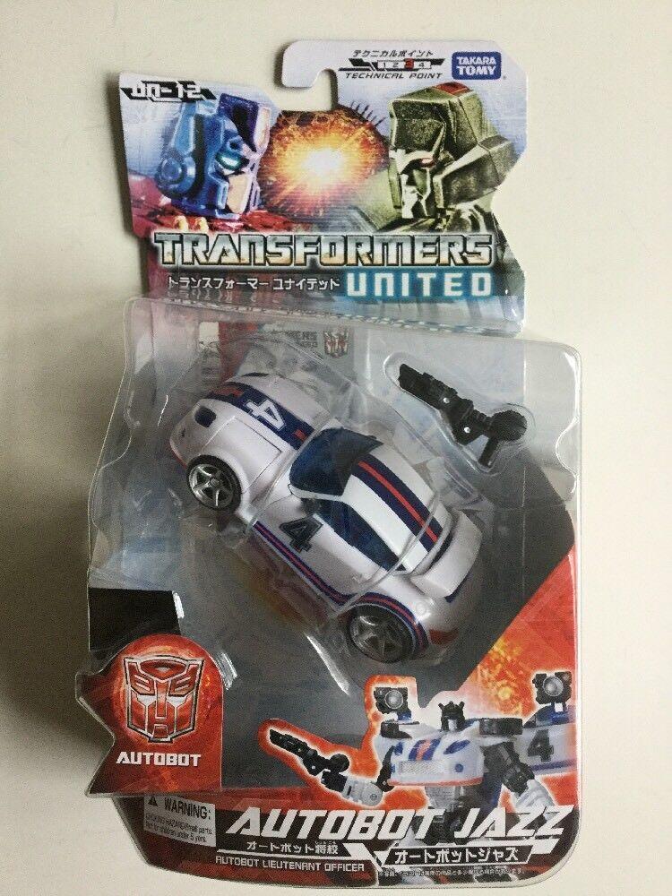 Transformadores Autobot Jazz UN-12 EE