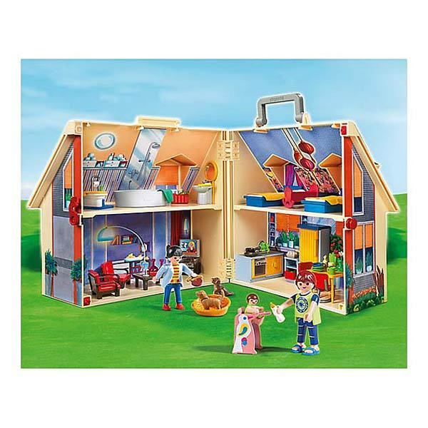 Maison transportable - Playmobil Dollhouse