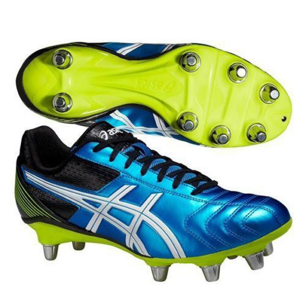 68563ca3aa Details about ASICS Lethal Tackle GS Youths Football Boots Studs UK13 kids  up to UK4 Youths