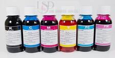 6x100ml Premium Refill Ink for HP 02 C5180 C7180 C7250 C7150 3310