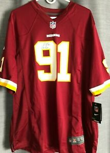 Ryan-Kerrigan-autographed-signed-auto-Washington-Redskins-authentic-Nike-jersey