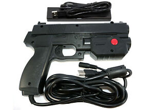 Details about Black Ultimarc AimTrak Arcade RECOIL Light Gun for  MAME,Win,PS2,PS3
