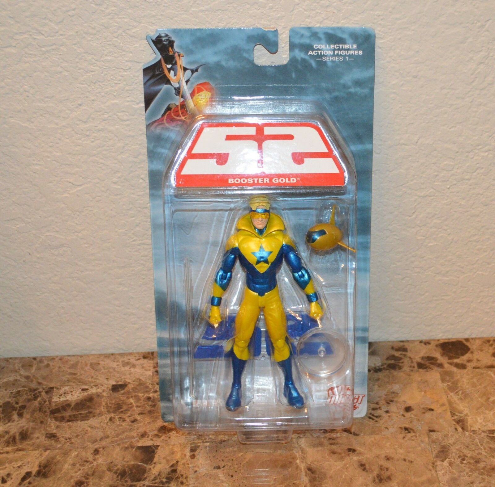 52 Series 1  Booster gold Action Figure Dc Direct