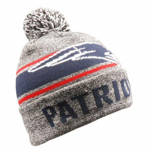 LED New England Patriots Wintermütze Bommel Beanie