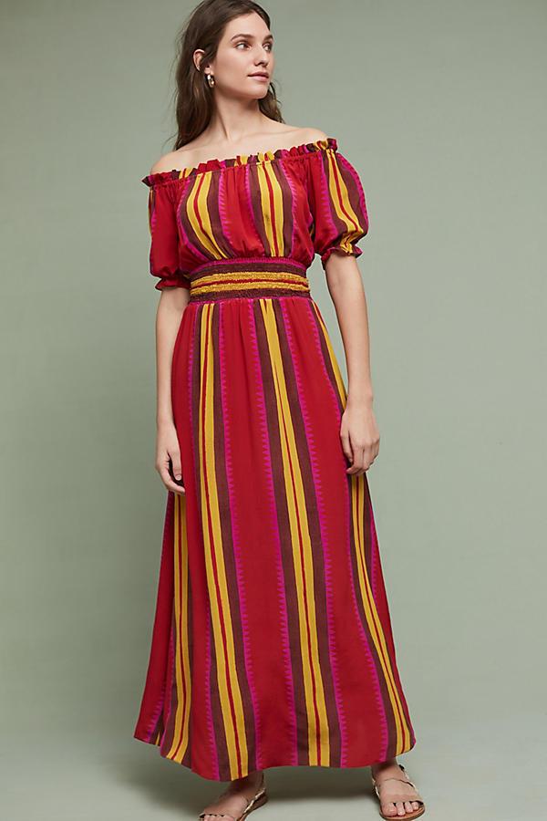NWT Anthropologie Tesni Maxi Dress by Anupamaa  Größe MEDIUM