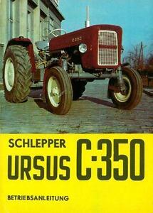 Bedienung-Traktor-Schlepper-Ursus-C-350-Polen