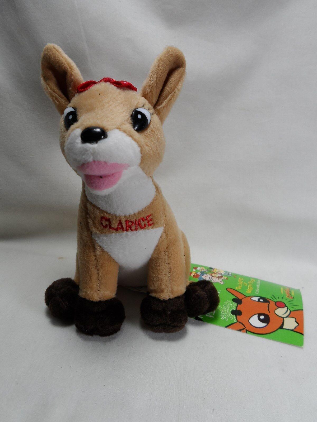 2000 Rudolph Co.15.2cm Clarice Rudolph die Rote Nosed Rentier Limitierte Auflage