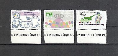 Logisch Türk.zypern Michelnummer 611-613 Postfrisch europa:2731 ZuverläSsige Leistung