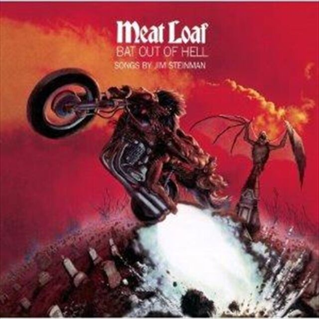 MEAT LOAF Bat Out Of Hell CD with 2 BONUS TRACKS - ****NEW SEALED CD****