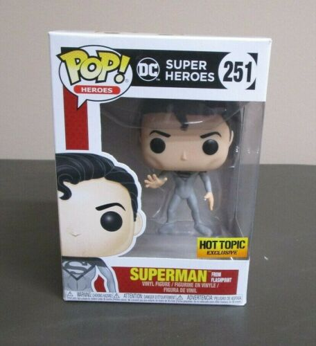 SUPERMAN DC Super Héros FUNKO POP HEROES Comme neuf IN BOX #251 NEUF