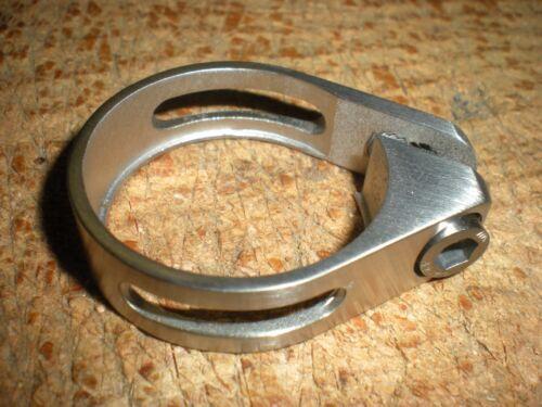 Carver vélos Titane Tige de selle Clamp 34.9 mm