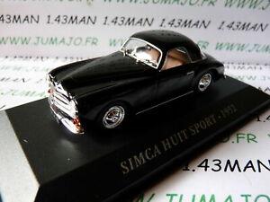 SIM3F altaya IXO 1//43 SIMCA Bagheera courrèges 1976 blanche