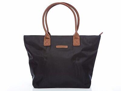Damen Tasche Damentasche Schultertasche Handtasche Shoppertasche schwarz braun