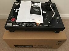 Technics SL-1210 Mk2 DJ Hifi Turntable Deck Vinyl SL-1200 - 1 Year Warranty