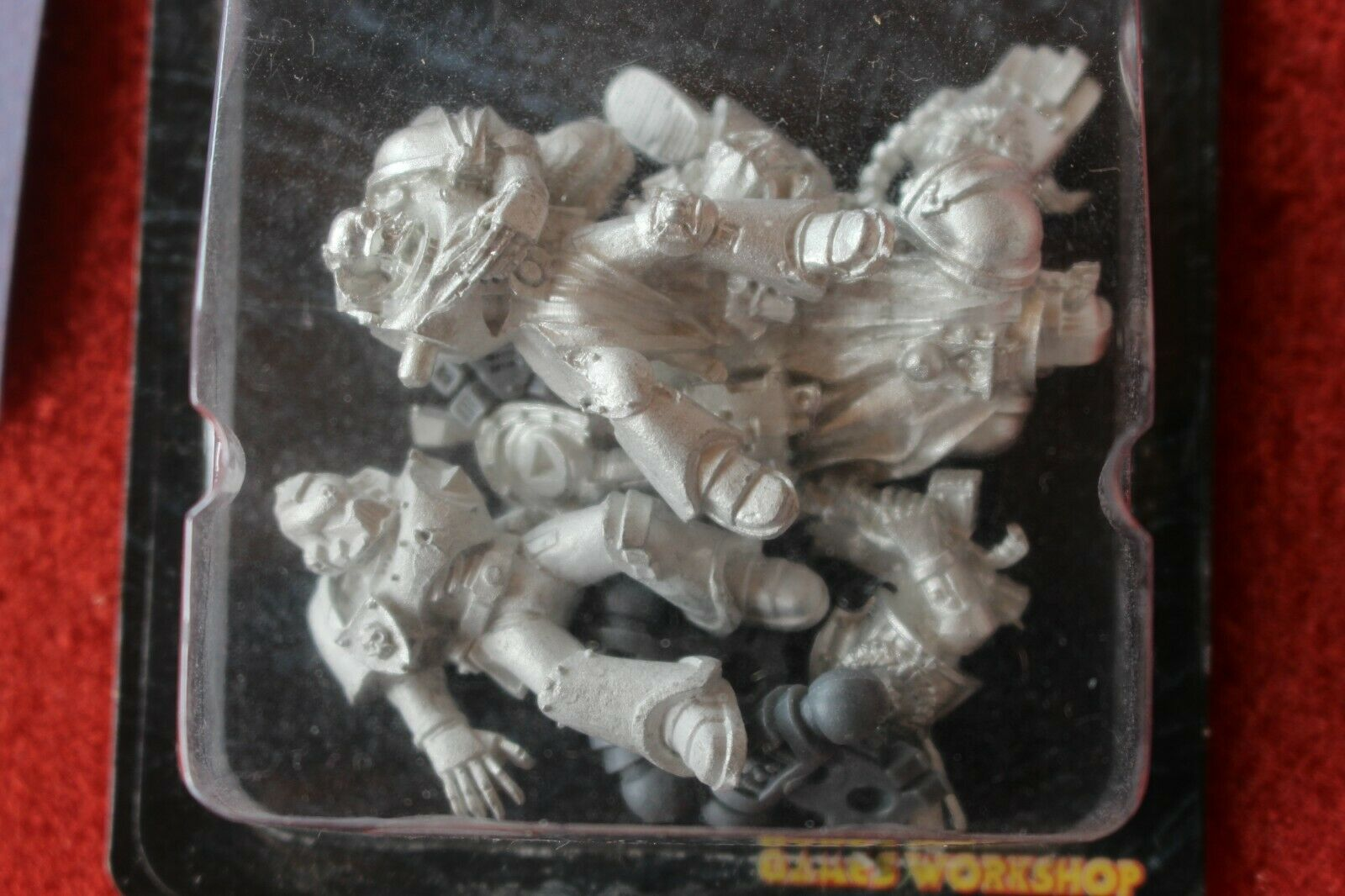 Games Workshop Space Marines Causalities New New New Wounded Casualty Markers Metal NIB 9164a8