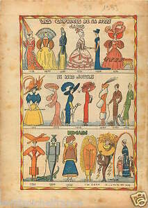 Caricature-les-Caprices-de-la-Mode-Fashion-Dress-Robe-Costumes-1933-ILLUSTRATION