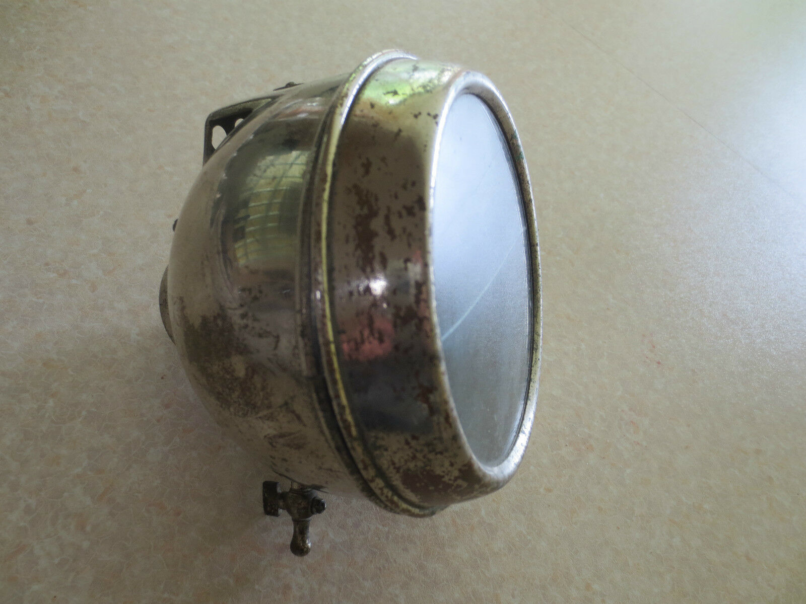 Vintage bicycle carbide lamp for Peugeot Raleigh Sunbeam Triumph BSA  Rudge  credit guarantee