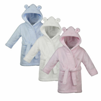 Embroidered Personalised TED Soft Baby Dressing Gown Bath Robe y babys new 2019