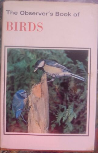 1 of 1 - THE OBSERVER'S BOOK OF BIRDS...S.V BENSON...222 PAGES..GOOD COPY..PB  1973..H/C