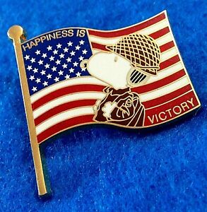 SNOOPY-HAPPINESS-IS-VICTORY-AMERICAN-GI-FLAG-OPERATION-INFINITE-JUSTICE-BRWN-PIN