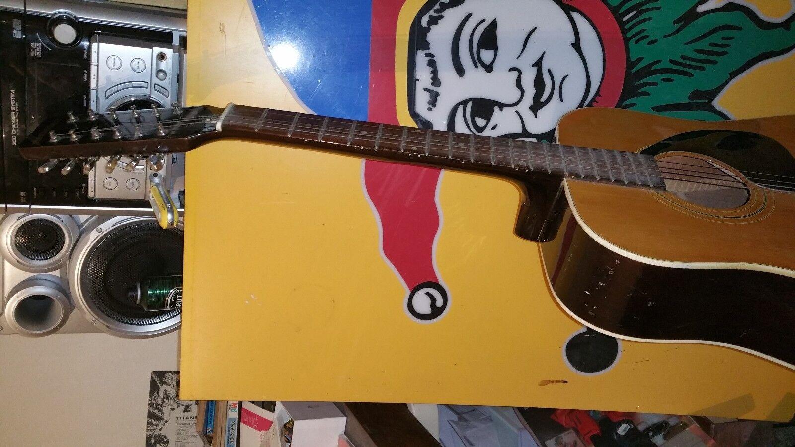 Rare guitare vintage folk JUAN HERNANDEZ 12 cordes