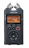 Tascam Dr-40 Handheld Pcm Portable Digital Recorder Free Sd Card Xlr