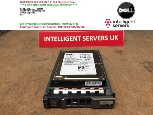 Dell 300GB 10K 6GB SAS 2.5'' Hard Drive C975M / 0C975M