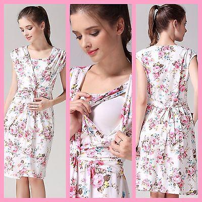 Ausverkauf!! Blumen Stillen Kleid Größe M 10 12 14 16 Klar Und Unverwechselbar