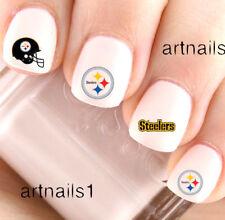 Item 3 Pittsburgh Steelers Football Nail Sports Team Water Decals Stickers Salon Polish