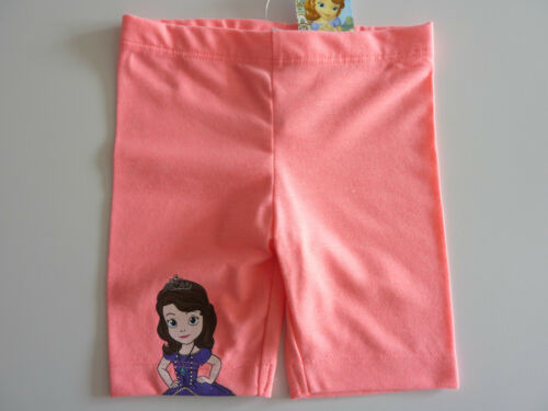 Disney Sofia Le Premier Fluorescent Pink Shorts Nwt