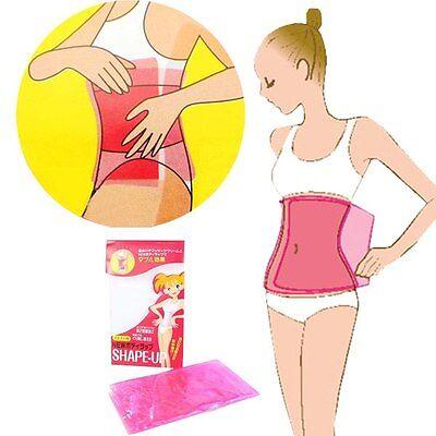 Sauna Slimming Belt Waist Wrap Shaper Burn Fat Cellulite Belly Lose Weight HKCA