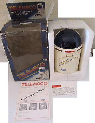 Dinamico Robot Telemaco Rege Micro Computer Didattico Vintage Anni 80