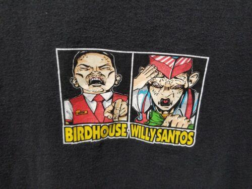 Vintage Rare1990's Birdhouse Willy Santos T-Shirt