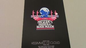 1985-Walt-Disney-World-Ronald-Reagan-President-039-s-Inaugural-Bands-Parade-Souvenir