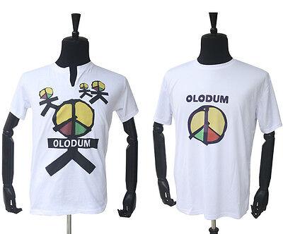 2PCS MJ Michael Jackson OLODUM Cotton T-shirt They Don't Care About Us' for fans